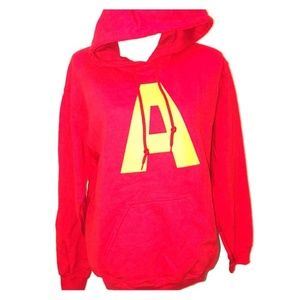 Other - Alvin and the Chipmunks Red Hoodie Sweater